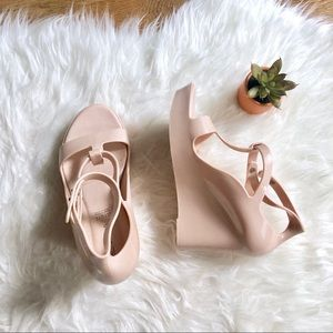 Aldo Nude jelly heels